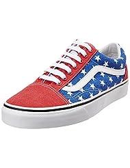 Vans Men's Van Doren Stars And Stripes Canvas Sneakers - 8 US/7 UK