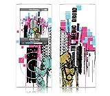 MusicSkins Sticker de protection pour iPod Nano 4G Motif Medic Droid Droid