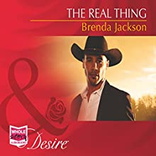 The Real Thing (       UNABRIDGED) by Brenda Jackson Narrated by Avery Glymph