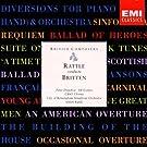 Rattle conducts Britten: American Overture, Scottish Ballad