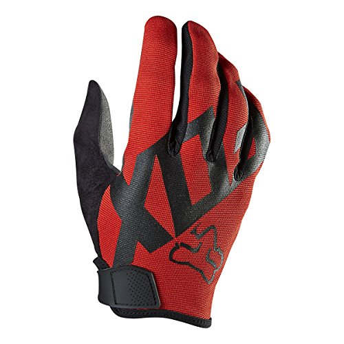 Fox Racing Ranger Mountain Bike Gloves, Red, Medium (Cycling Gloves Medium compare prices)
