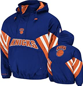 NBA Mitchell & Ness 5687 Vintage Nylon Flashback Jacket New York Knicks by Mitchell & Ness