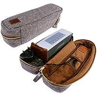 Tuff-Luv Herringbone Tweed NFC Travel case für Bose Sound-Link Mini mit NFC-Tag - Braun