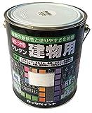 ロックペイント 油性・つや有ウレタン建物用塗料 アイボリー 1.6L H06-1648-6S