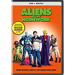 Aliens Ate My Homework [Blu-ray]