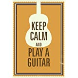 Seven Rays - 'Keep Calm And Play A Guitar' - Small Mini Poster - 12x18 Inches