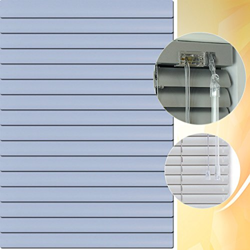 Aluminium Jalousie 210 x 90 cm (Breite x Höhe) – Lamellenfarbe 1505 veilchen // Maßanfertigung Alu Jalousien Jalousette Rollo Plissee