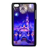Customize Disney Castle Design Hard Case For Ipod Touch 4