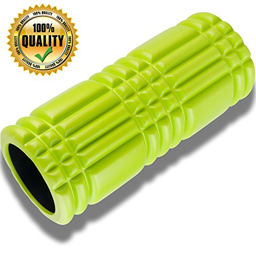 Premium Foam Exercise Roller for Muscle Massage with Matrix Technology 13 x 5.5 Inches Professional Grade High Density Foam Exercise Roller