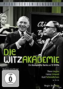 Pidax Serien-Klassiker: Die Witzakademie - Die komplette Serie [2 DVDs]