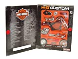Harley Davidson Softail Deuce 2000 (Kit) in Red (1:18 scale) Diecast Model Motorbike Kit
