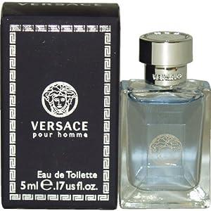 Versace Pour Homme By Versace Mini Eau De Toilette .14 oz