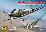 P-39 L/N Airacobra: USAAF, Italian, Soviet, French (1/72 model kit, RS Models 92132) by RS Models