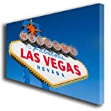 Las Vegas Sign USA canvas art print 400