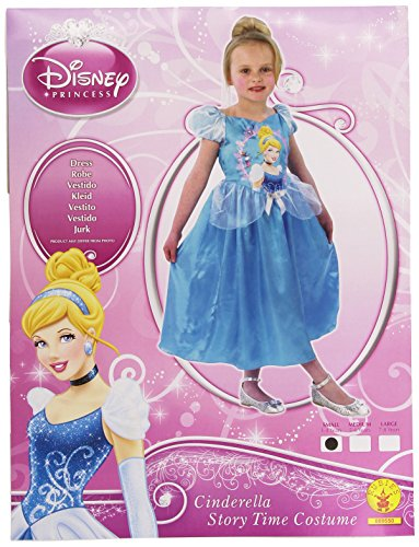 Classic Cinderella Small Girls Disney Princess Blue Fancy Dress Party Costume