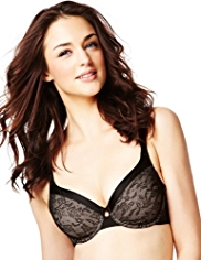 Youthful Lift™ Smoothing Floral Lace Underwired B-DD Bra
