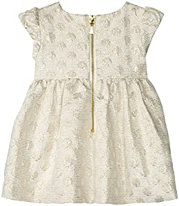 kate spade york Baby Girls Babies' Gold Dot Dress, Cream/Gold, 12M from Global Brands Group - Quidsi