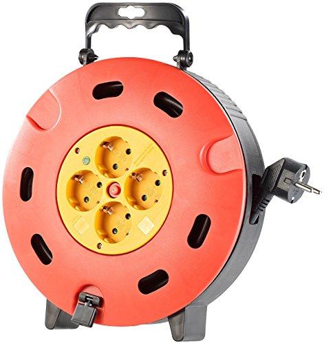 AGT-Kabeltrommel-15-m-mit-Thermo-Schutzschalter-fr-4-Schukostecker
