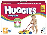 Huggies Snug & Dry Diapers, Size 4, 140 Count