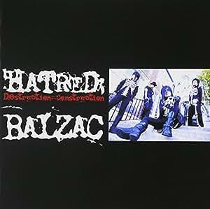 Hatred:Destruction=construction