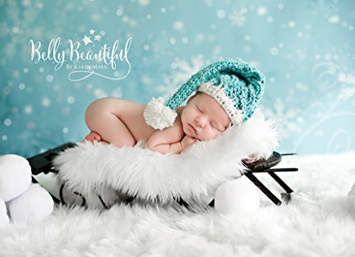 Cabled Sleep Cap Crochet Pattern - All Baby, Toddler, Child, and Adult Sizes Included