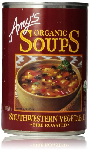 Amy S Kitchen Roasted Southwestern Vegetable Soup