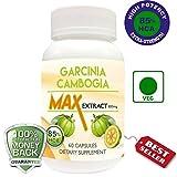 Garcinia Cambogia Max 85% Hydroxycitric Acid (HCA) VEG 60 Capsules 800 Mg For Weight Loss