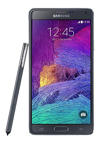 Samsung Galaxy Note 4 N910T 32GB 4G LTE T-Mobile GSM Unlocked Smartphone Charcoal Black (Certified Refurbished) (Note 4 Front Camera compare prices)