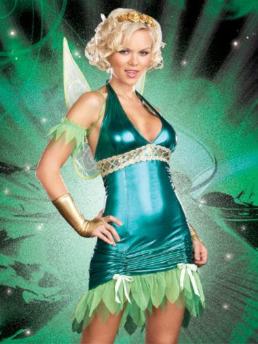 7 Piece Set Lil Green Fairy Costume