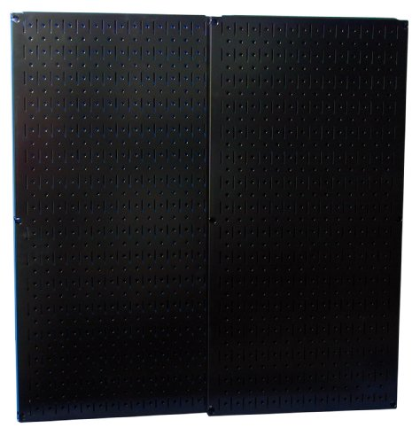 Images for Wall Control 30-P-3232B Black Metal Pegboard Pack