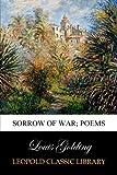 Sorrow of war; poems