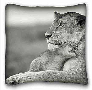 Amazon.com: Custom ( Cats Animal Lion ) Zippered Body Pillow Case Cover Size 16