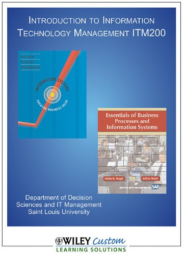 Essentials of Business Processes (Custom for Saint Louis University)