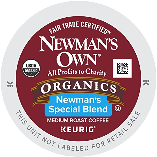Newman's Own Special Blend Coffee, Medium Roast Coffee K-Cup Portion Pack for Keurig K-Cup Brewers (Pack of 80, net wt. 32.1 oz.) (K Cups Coffee Newmans Own compare prices)