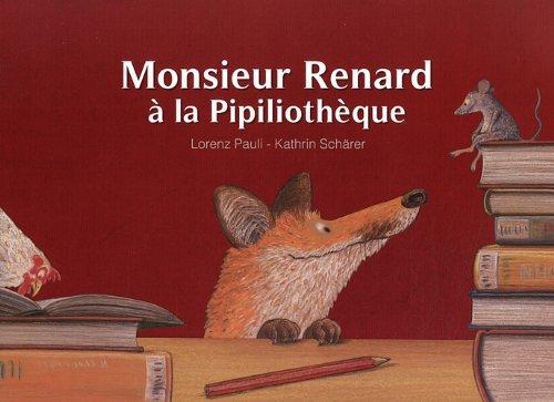 Kamishibaï - Monsieur Renard à la pipiliothèque