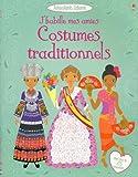 J'habille mes amies - Costumes traditionnels - Autocollants Usborne