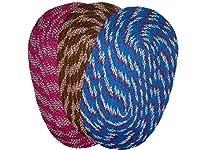 "Avi Round Cotton Shape combo - 12"" X 16"", Multi-Color"