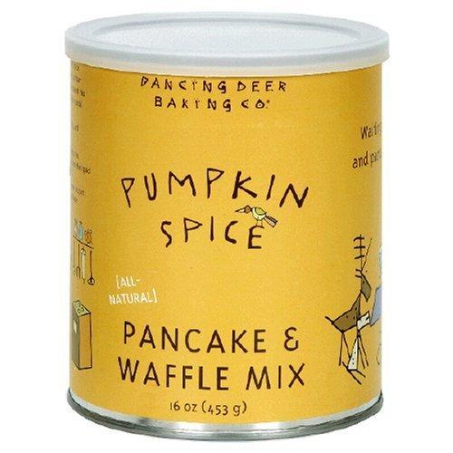 Dancing Deer Baking Company Pumpkin Spice Pancake and Waffle Mix