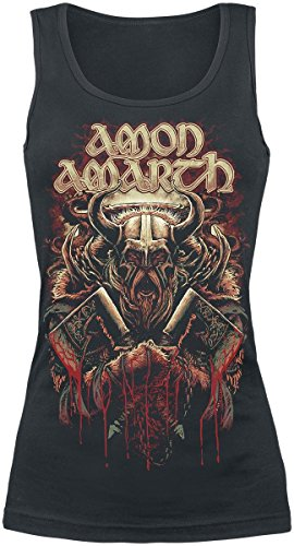 Amon Amarth Viking Top donna nero L