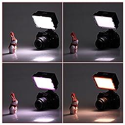 Neewer® 160 LED CN-160 Dimmable Ultra High Power Panel Digital Camera / Camcorder Video Light Kit, LED Light for Canon, Nikon, Pentax, Panasonic, Sony, Samsung and Olympus Digital SLR Cameras, Kit Includes:(2)CN-160 LED Video Light+ (2)5.9\