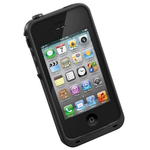 LifeProof Case for iPhone 4/4S - Retail Packaging - Black