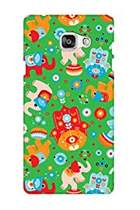 ZAPCASE PRINTED BACK COVER FOR SAMSUNG J7 PRIME Multicolor