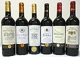 セレクション 金賞受賞酒 フランスボルドーワイン(金賞6本) 赤ワイン 6本セット 750ml×6本 ランキングお取り寄せ