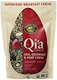 Natures Path Qia Chia Buckwheat and Hemp Cereal, Cranberry Vanilla, 7.90 Ounce