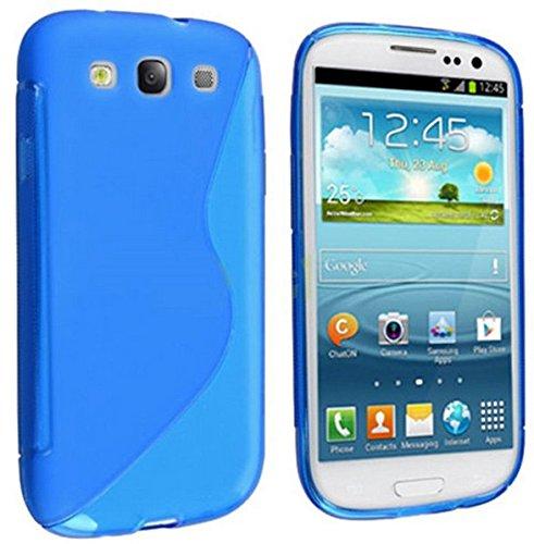 Samsung Galaxy S3 / Samsung Galaxy S3 Neo Schutzhülle S-Line TPU Case Blau