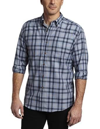 Pendleton Men's Sir Pendleton Shirt, Blue/Navy/Black Ombre, Small