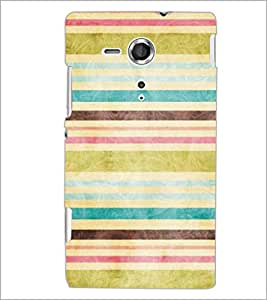PrintDhaba Pattern D-5302 Back Case Cover for SONY XPERIA SP (Multi-Coloured)