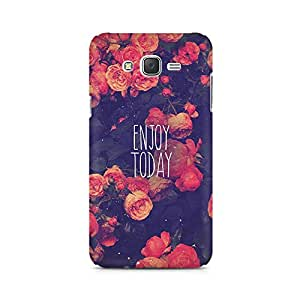 Ebby Enjoy Today Premium Printed Case For Samsung J5