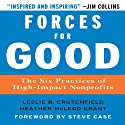 Forces for Good: The Six Practices of High-Impact Nonprofits (       UNABRIDGED) by Leslie R. Crutchfield, Heather McLeod Grant Narrated by Erik Synnestvedt