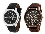 Dezine combo of analog watches-DZ-GR1010BLK+401BLK